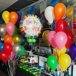 heliumballonnen los of in trosjes