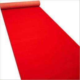 Rode loper 1 m breed (prijs per meter)