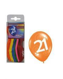 ballonnen 21 jaar 12 st