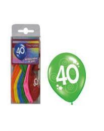 ballonnen 40 jaar 12 st