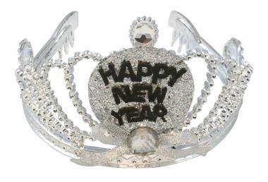 Tiara Happy new year met led
