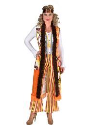 Hippie lange vest met broek