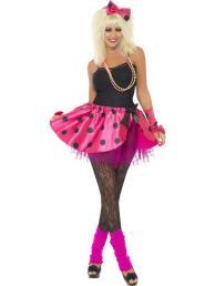 Roze tutu rok met accessoires