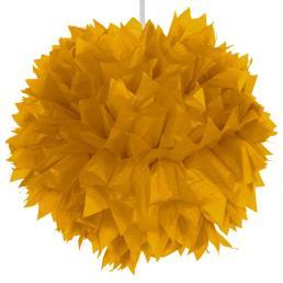 Pompon diam. 30 cm goud