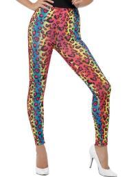 Legging multi colour print
