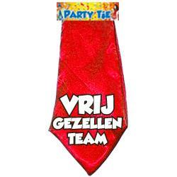 Party tie: vrijgezellenteam