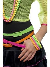 Armbanden neon (4 st)