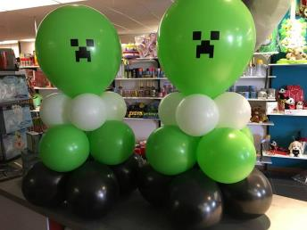 Minecraft ballon 1 m hoog