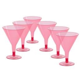 Cocktailglazen 6 st