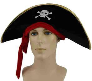 Piratenhoed stof