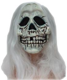 Masker skull + hair