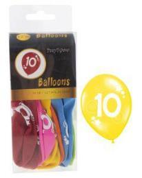 ballonnen 10 jaar 12 st
