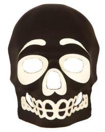masker skelet GID (glow in the dark)