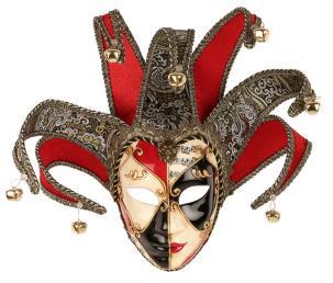 Luxe Venetiaans masker vrouw