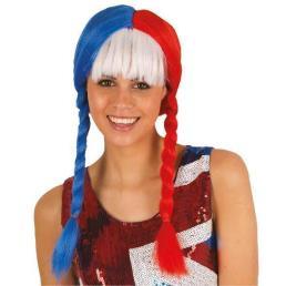 Vlechten Amerikaans/Franse tricolor