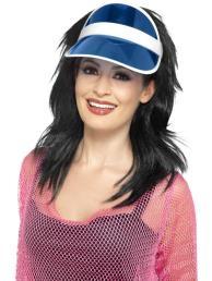 pet sun visor (zonneklep) blauw