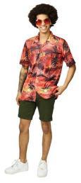 Hawai hemd rood