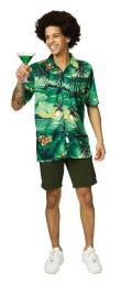 Hawai hemd groen