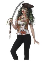 Zombie pirate shirt