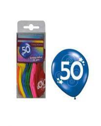 ballonnen 50 jaar 12 st