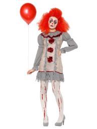 Vintage clown vrouw