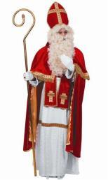 Sinterklaaspak (habijt, stola, mantel, mijter)