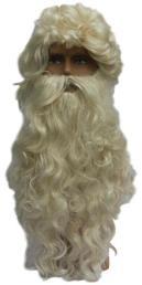Sint pruik + baard