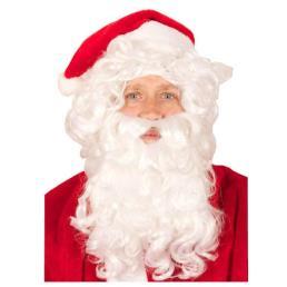 Kerstman pruik + baard