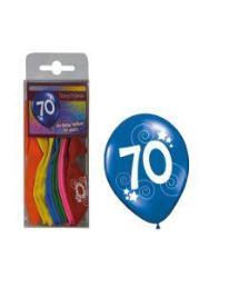 ballonnen 70 jaar 12 st