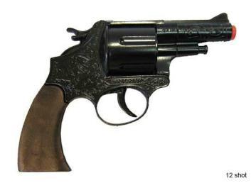 revolver 12 schot metaal