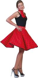 Rock'n roll rok rood