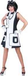 Kleed zwart wit