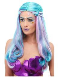 mermaid met parelketting