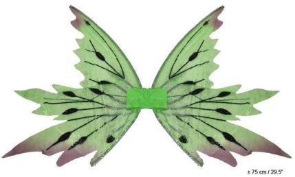 Vleugels vlinder groen