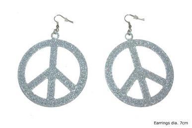 Oorbellen peace