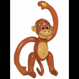 opblaasbare aap (58cm)