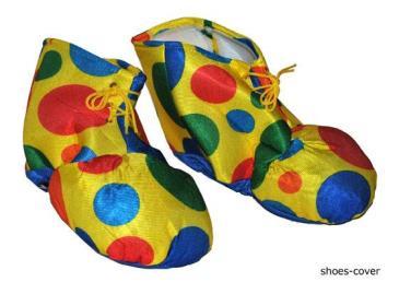 Clown schoencovers