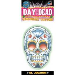 Tattoo Day of death 'El Jugador'