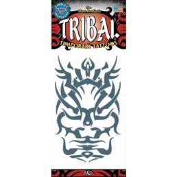 Tattoo face tribal