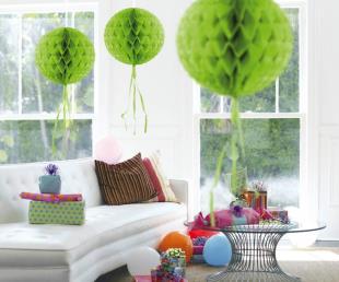 Honeycomb diam. 30 cm groen