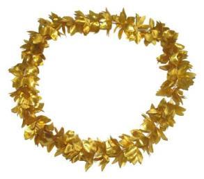 Hawaikrans goud