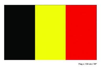Vlag België 90x150