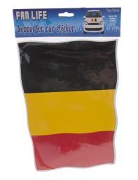 auto- venstersticker België 30x20cm