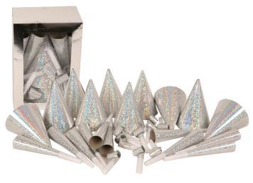Partyset 10 pers zilver