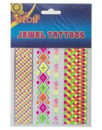 tattoo jewel neon