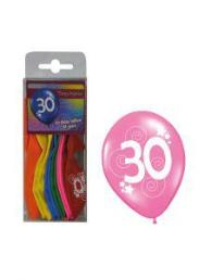 ballonnen 30 jaar 12 st