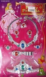 Princess set zilver
