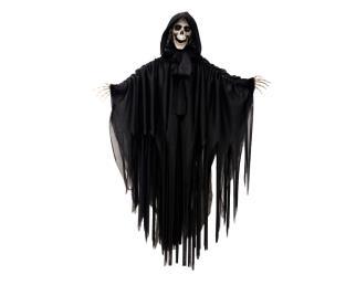 Hanging skeleton (movement, light, sound)
