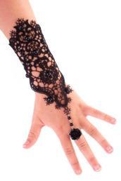 armband met kant en ring