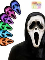 Scream ghost met licht